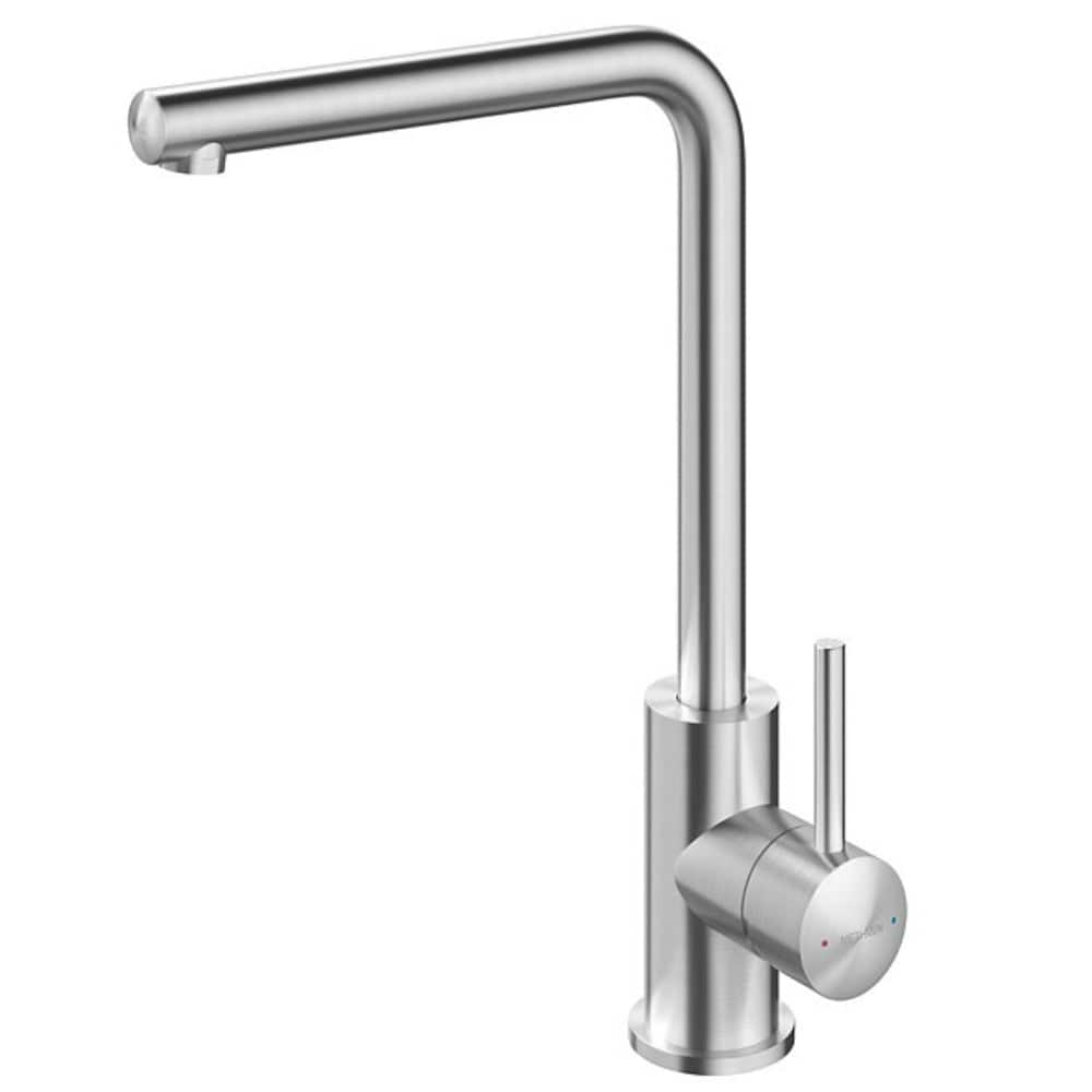 Methven Minimalist Square Neck Sink Mixer - Stainless Steel