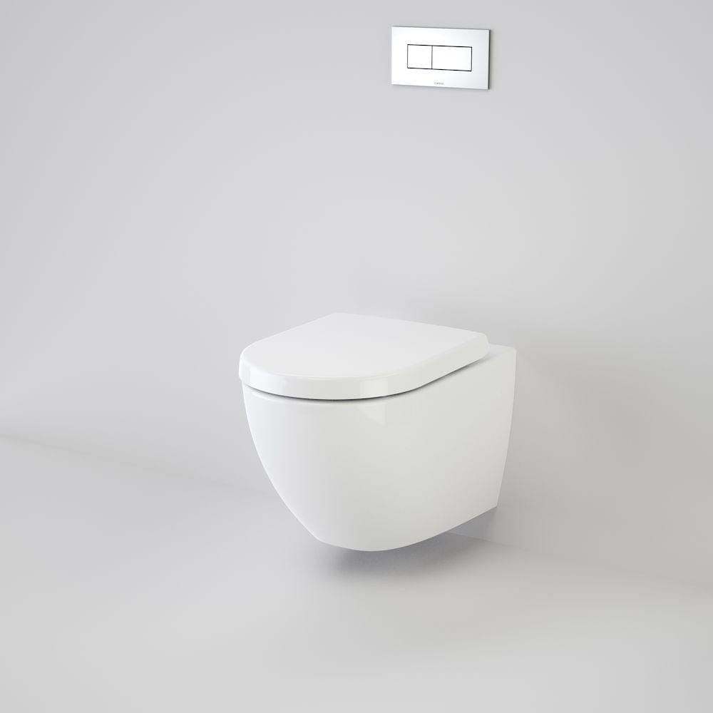 Caroma Urbane Invisi Series II Wall Hung Toilet Suite