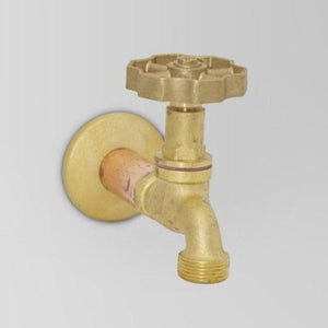 Astra Walker Eden Bib Tap | Brass Handle