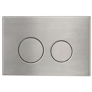 Astra Walker Round Flush Plate - Stainless Steel