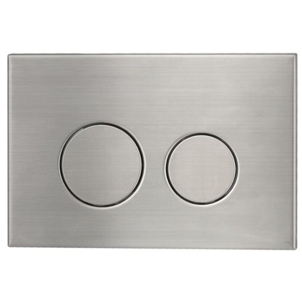 Astra Walker Round Flush Plate | Stainless Steel