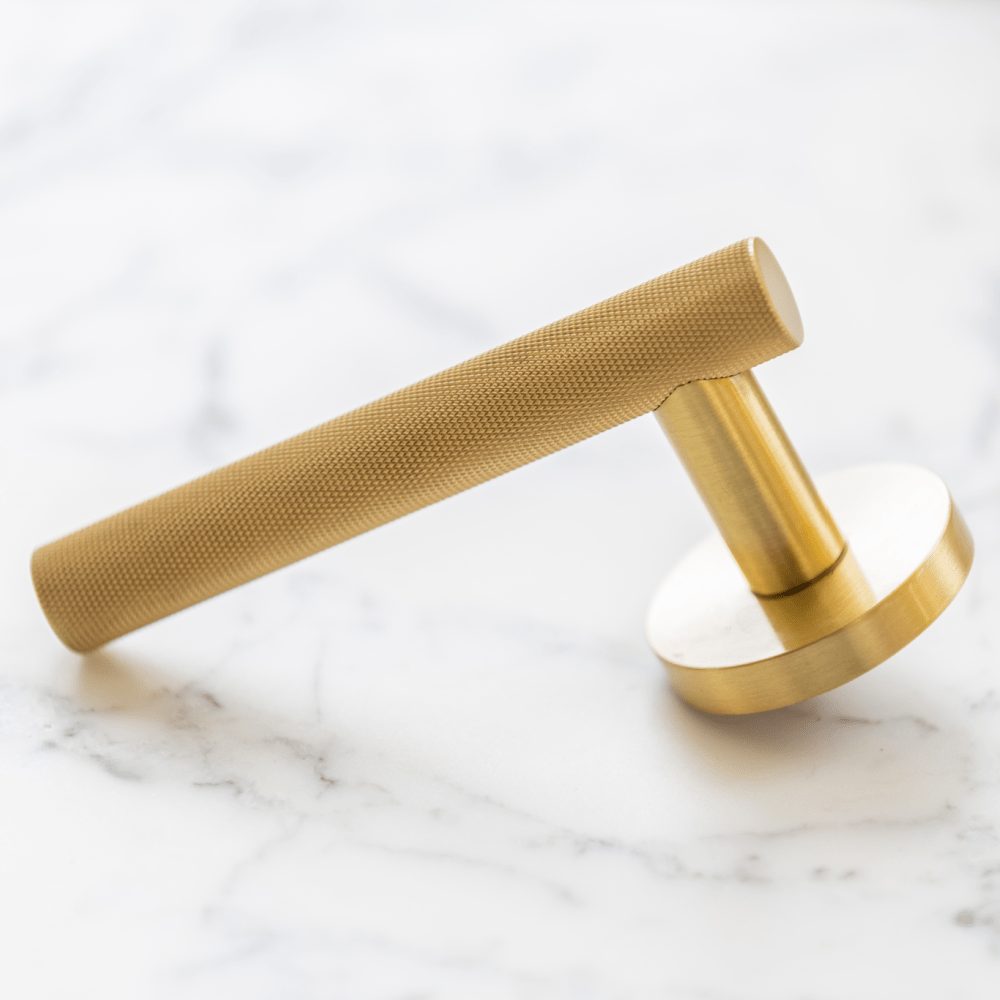 Atelier Door Lever | Brass