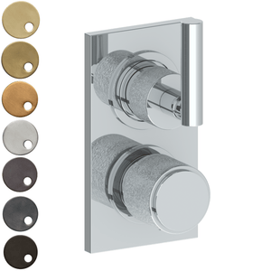 The Watermark Collection Sense Mini Thermostatic Shower Mixer with Diverter - Lever Handle