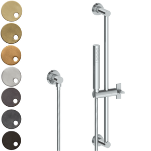 The Watermark Collection Zen Slimline Slide Shower