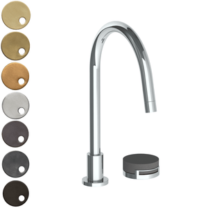 The Watermark Collection Elements 2 Hole Kitchen Set - Bridge Insert