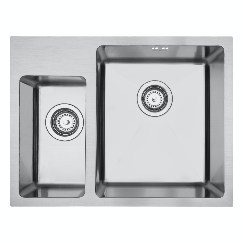 Mercer DV501-L Sink - Lichfield 170 x 320mm + 340 x 400mm
