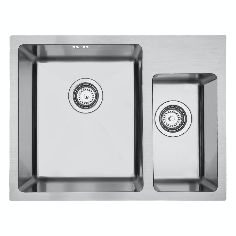 Mercer DV501-R Sink - Lichfield 340 x 400mm + 170 x 320mm