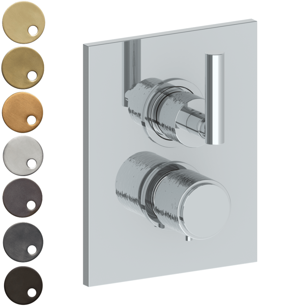 The Watermark Collection Sense Thermostatic Shower Mixer with Diverter - Lever Handle