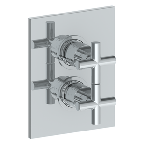 The Watermark Collection Sense Thermostatic Shower Mixer with Diverter - Cross Handle