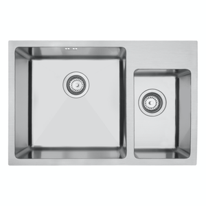 Mercer DV Hampton Double Sink | 400 + 200mm