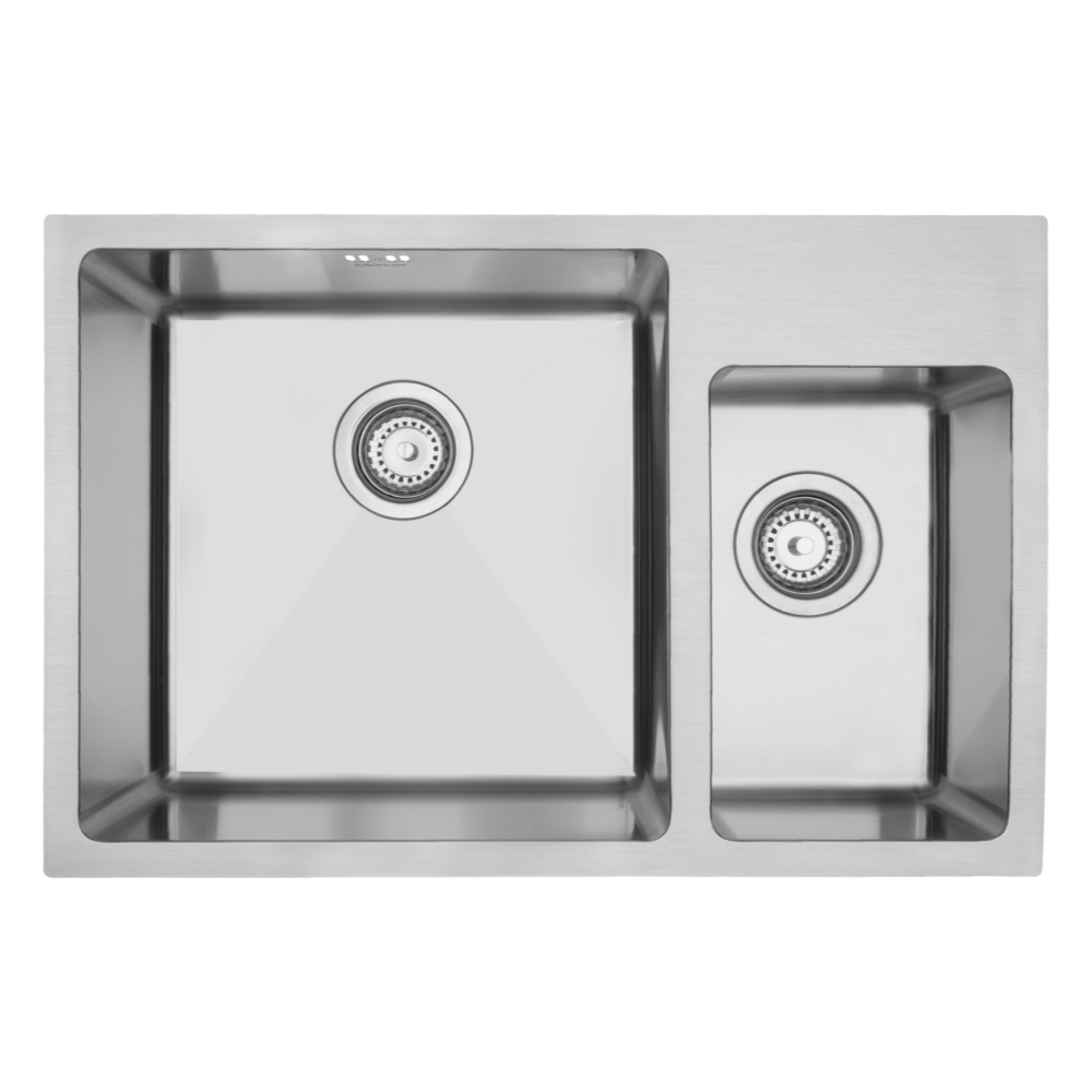 Mercer DV502-R Sink - Hampton 400 x 400mm + 200 x 320mm