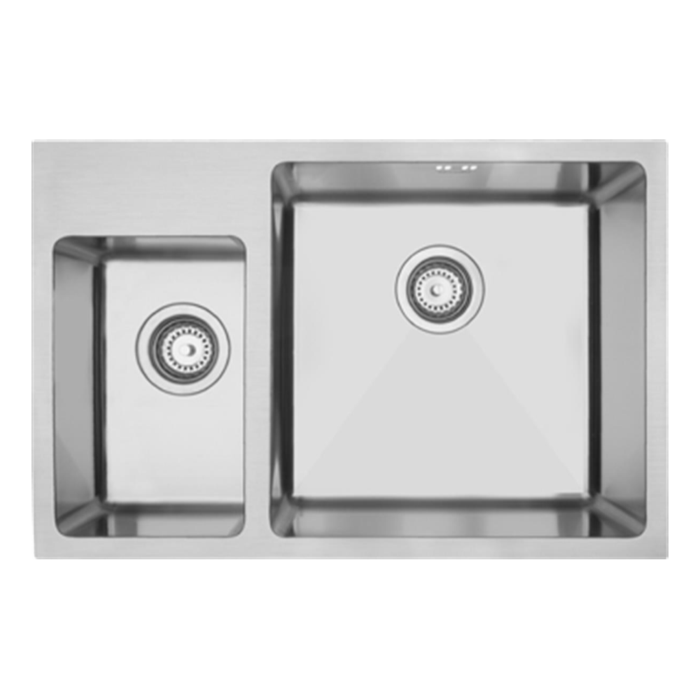 Mercer DV502-L Sink - Hampton 200 x 320mm + 400 x 400mm