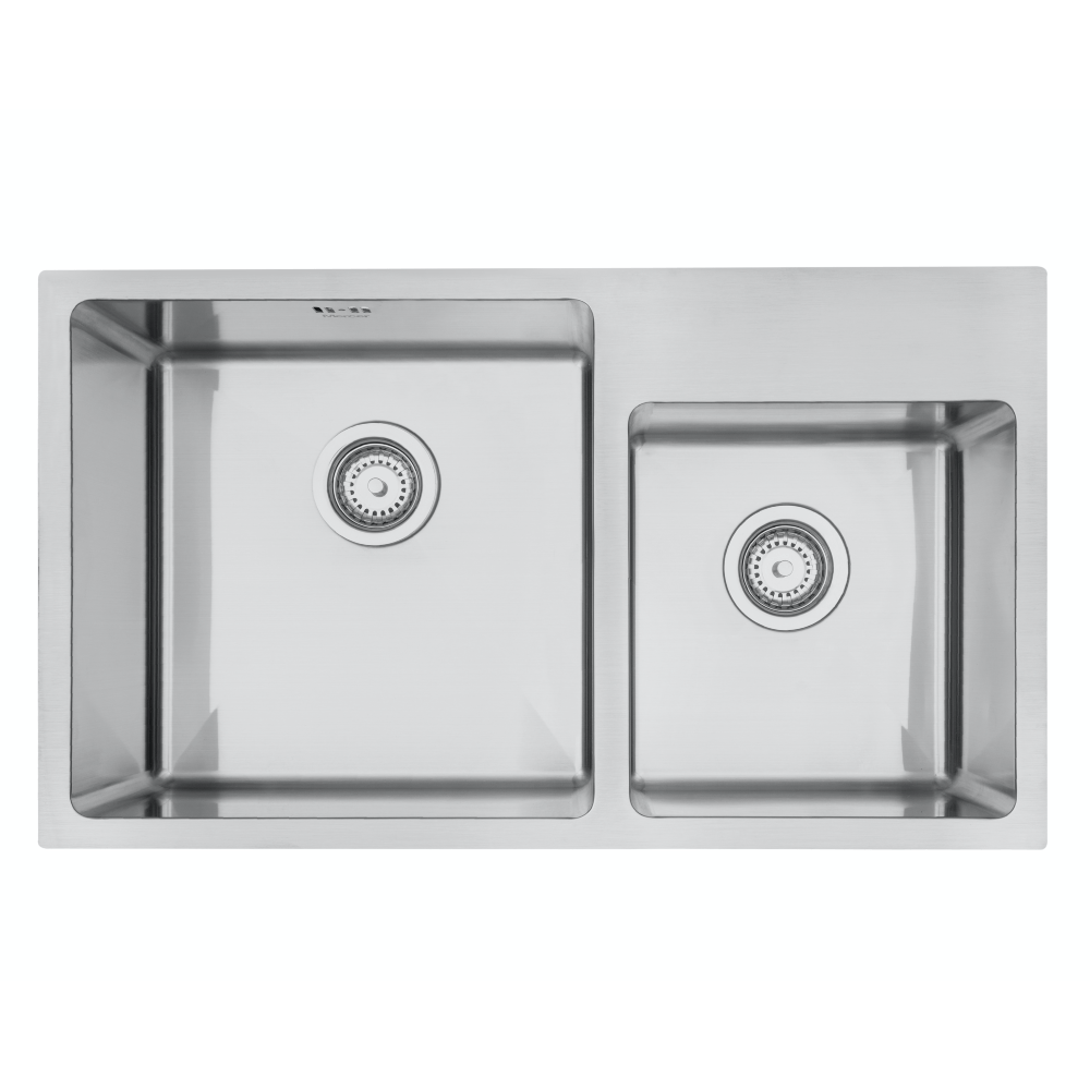 Mercer DV509-R Sink -Stratford 400 x 400mm + 300 x 320mm