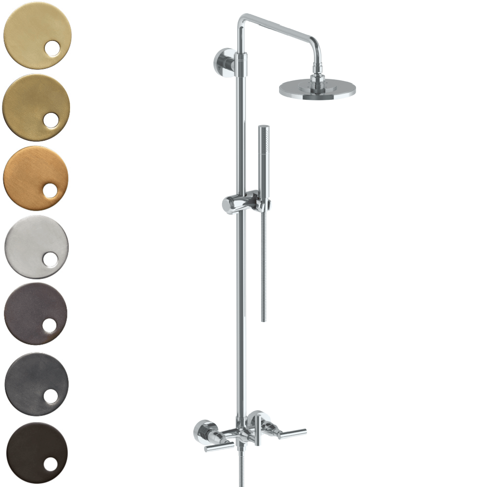 The Watermark Collection Sense Exposed Deluge Shower & Hand Shower Set - Lever Handle