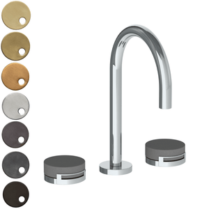 The Watermark Collection Elements 3 Hole Basin Set - Bridge Insert