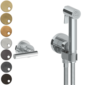 The Watermark Collection Sense Wall Mounted Bidet Spray Set with Mixer - Lever Handle