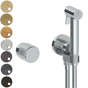The Watermark Collection Sense Wall Mounted Bidet Spray Set with Mixer - Dial Handle