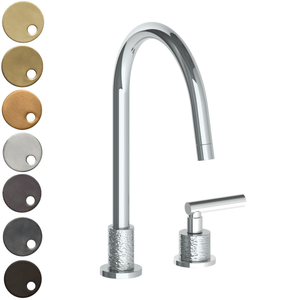The Watermark Collection Sense 2 Hole Kitchen Set - Lever Handle