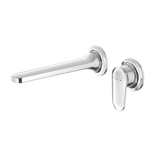 Methven Aio Wall Mounted Mixer with Spout - Chrome