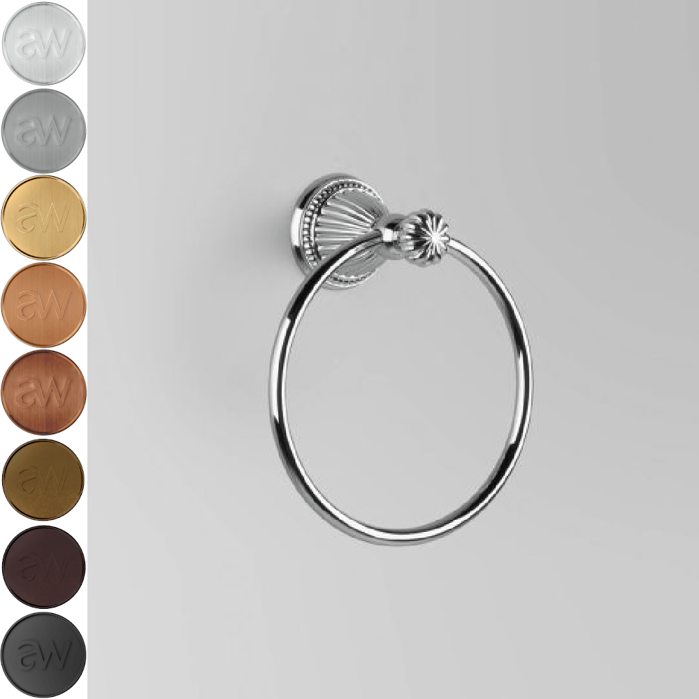 Astra Walker Swan Hand Towel Ring