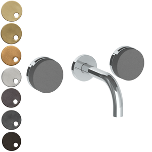 The Watermark Collection Elements Wall Mounted 3 Hole Basin Set with 142mm Spout - Bridge Insert