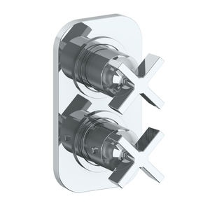 The Watermark Collection Zen Mini Thermostatic Shower Mixer with Diverter
