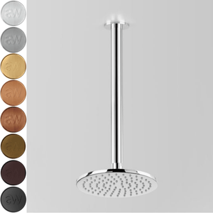 Astra Walker Icon Ceiling Mounted Shower with 200mm Rose