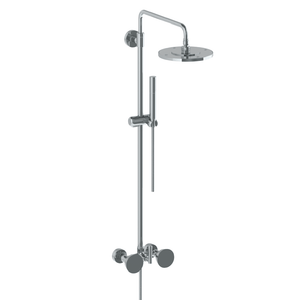The Watermark Collection Zen Exposed Deluge Shower & Hand Shower Set