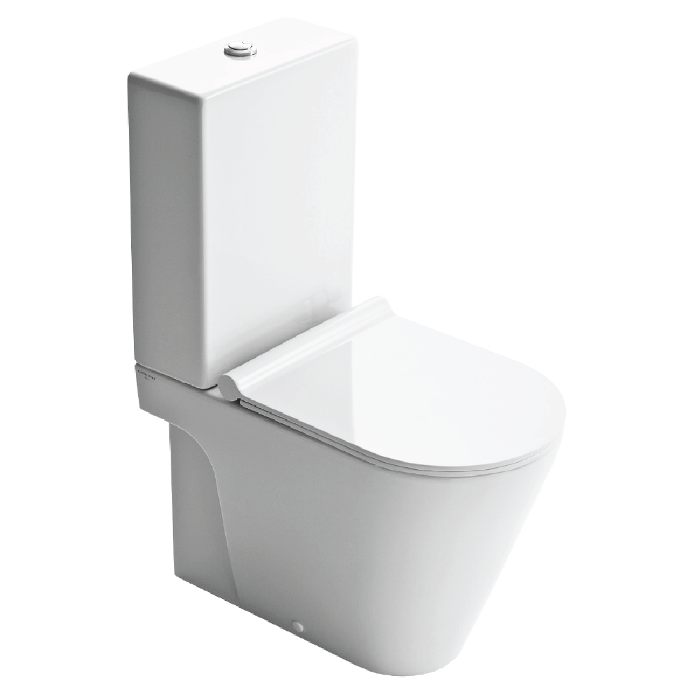 Catalano Zero 62 Back To Wall Toilet Suite with Slim Seat