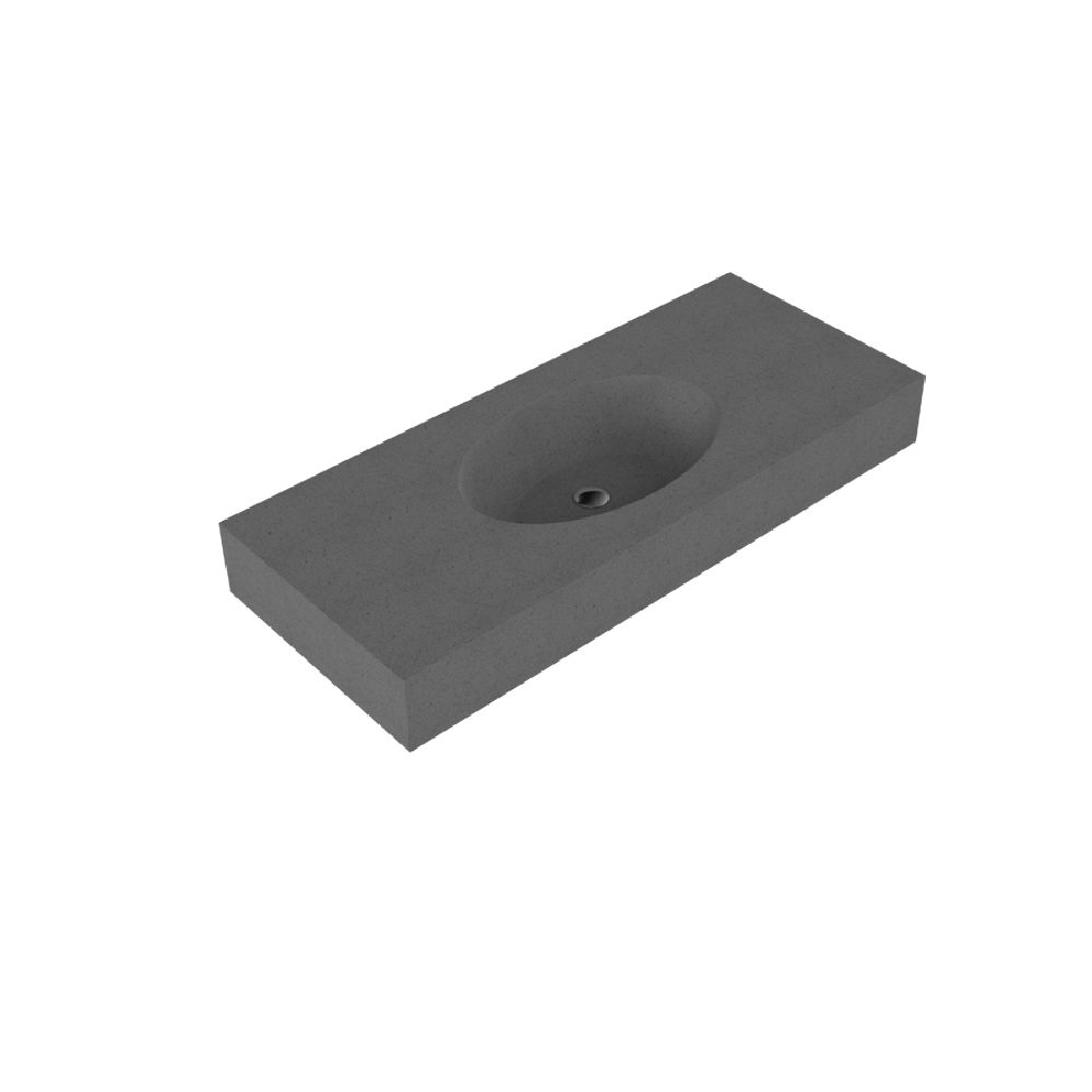 Claybrook Ovo 1200 Single Vanity Top