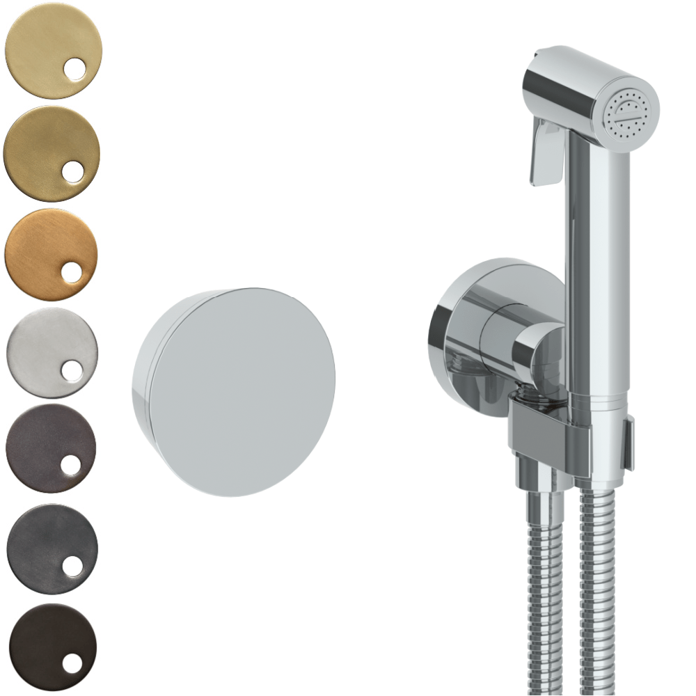 The Watermark Collection Zen Wall Mounted Bidet Spray Set with Mixer
