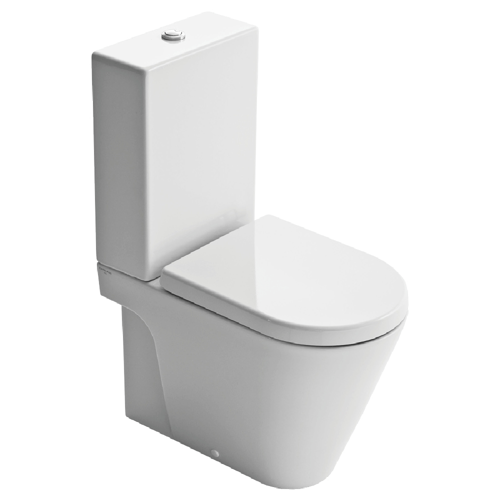 Catalano Zero 62 Back To Wall Toilet Suite with Thick Seat