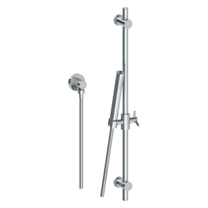 The Watermark Collection Brooklyn Slimline Slide Shower