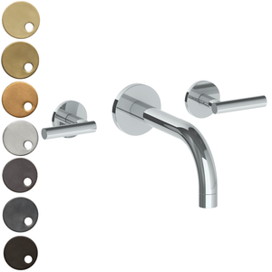 The Watermark Collection Loft Wall Mounted 3 Hole Bath Set