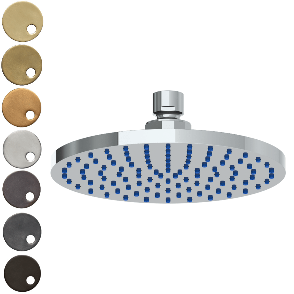 The Watermark Collection Titanium Deluge 200mm Shower Head Only