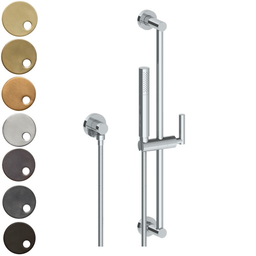 The Watermark Collection Loft Slimline Slide Shower