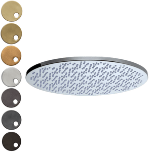 The Watermark Collection Elements Deluge 400mm Shower Head Only