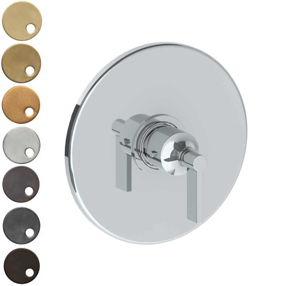 The Watermark Collection London Thermostatic Shower Mixer - Lever Handle