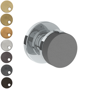 The Watermark Collection Elements Mini Thermostatic Shower Mixer - Scallop Insert