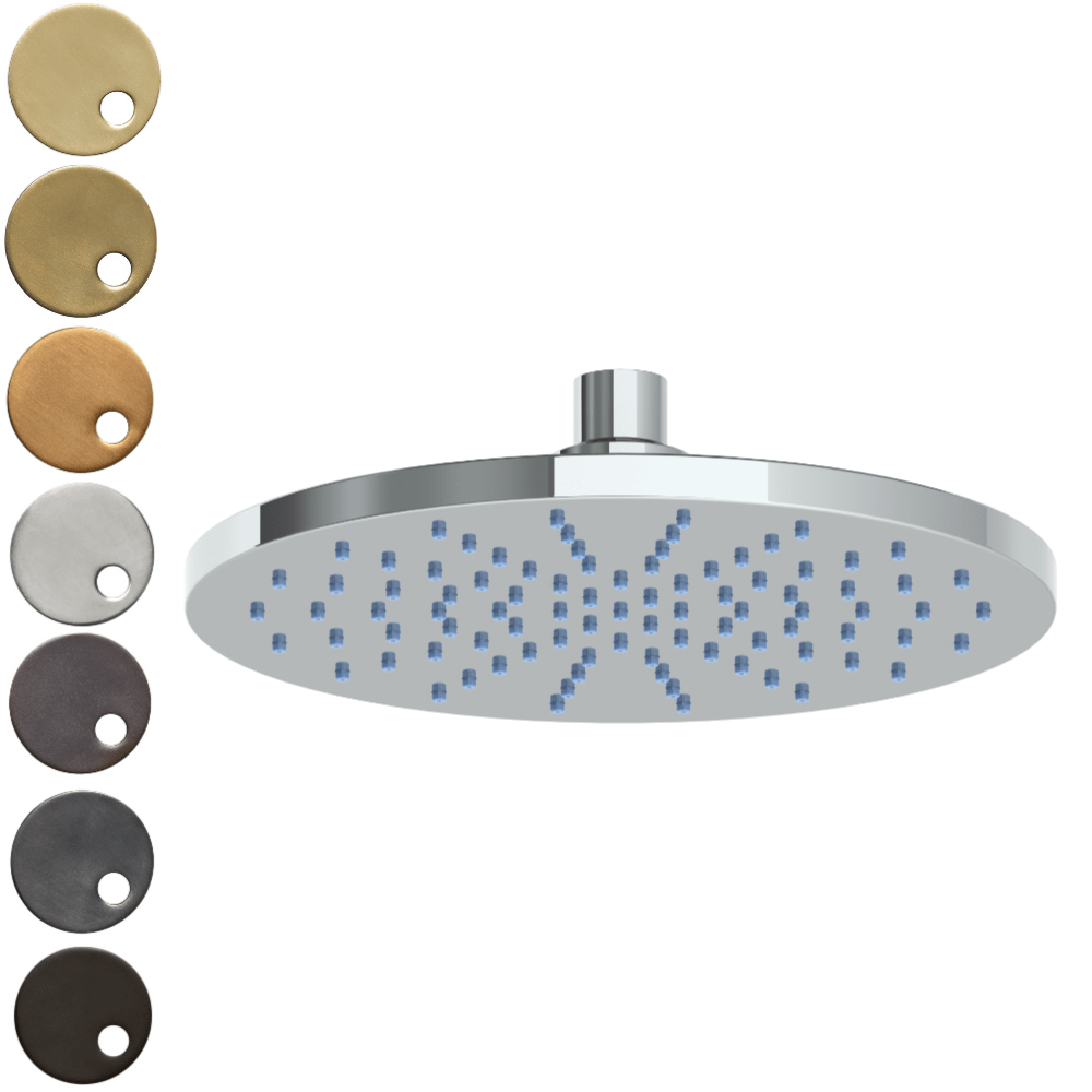 The Watermark Collection Titanium Deluge 250mm Shower Head Only
