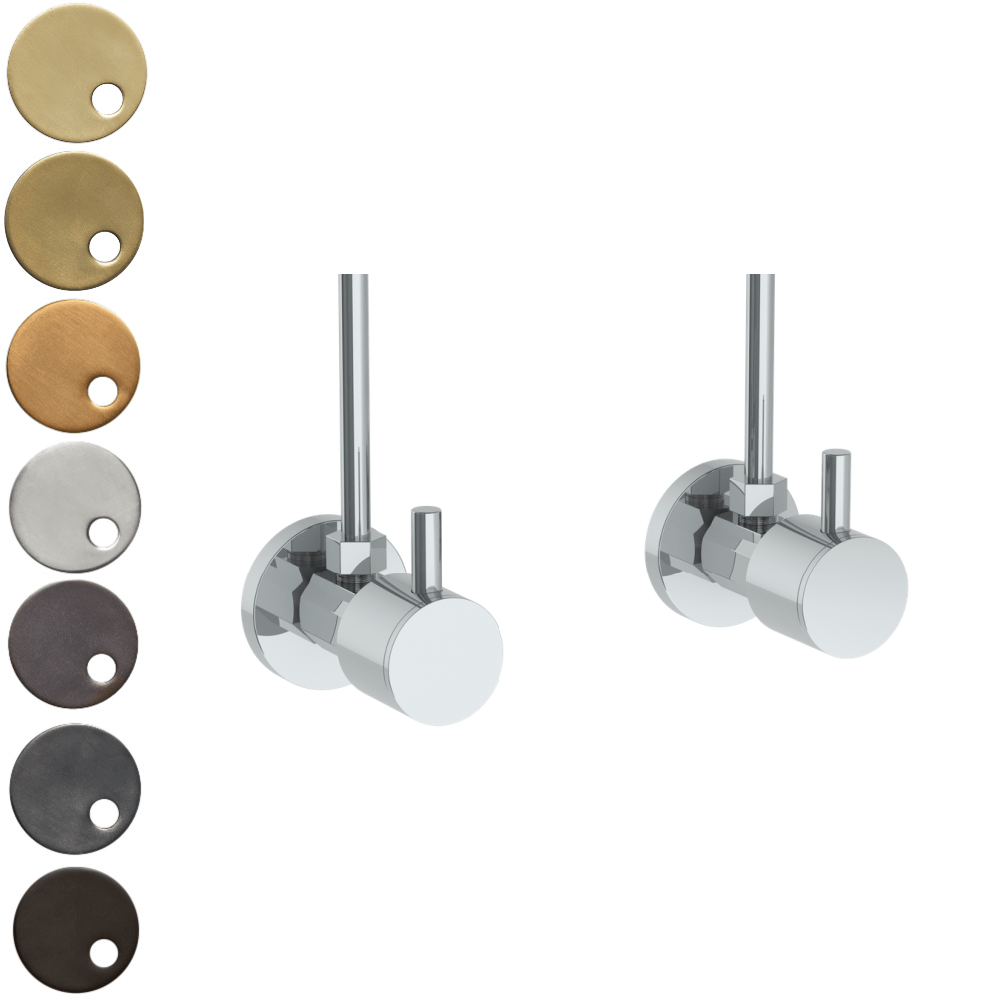 The Watermark Collection Ancillaries Angled Shut Off Valve Pair