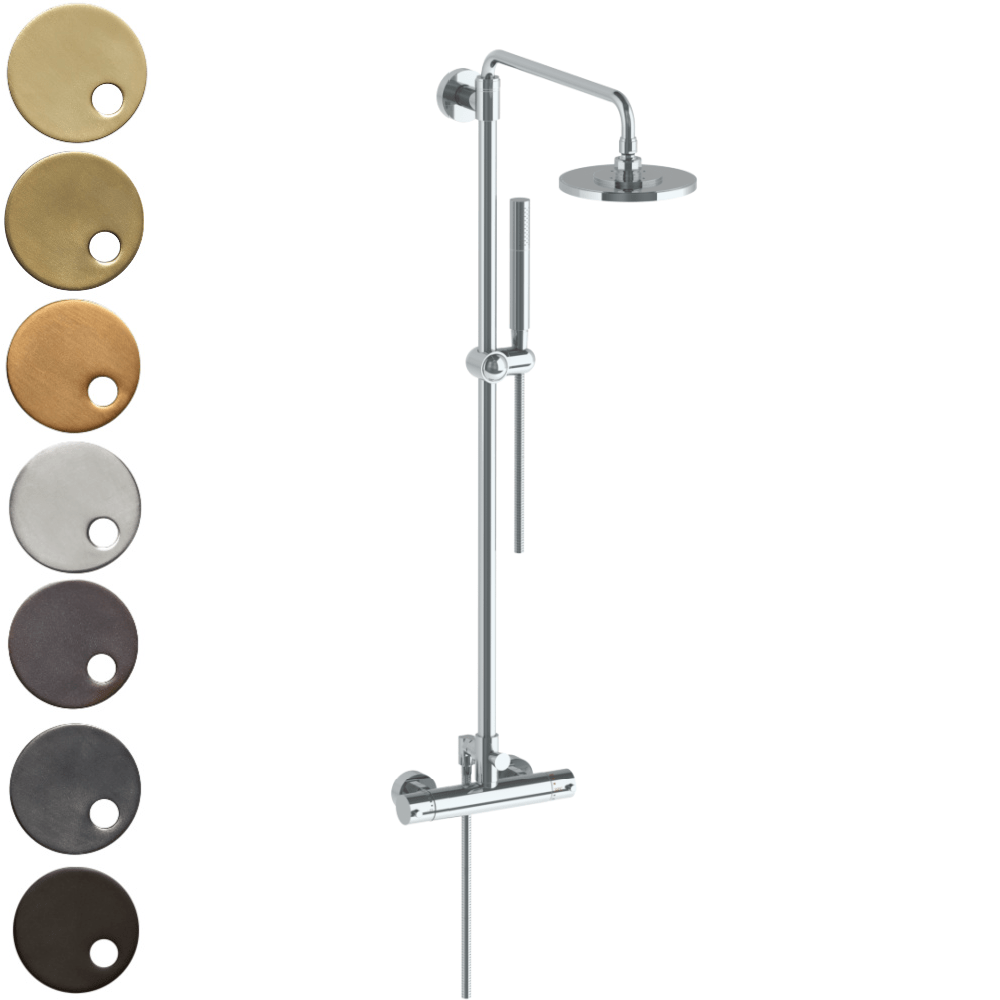 The Watermark Collection Loft Thermostatic Deluge Shower & Hand Shower Set
