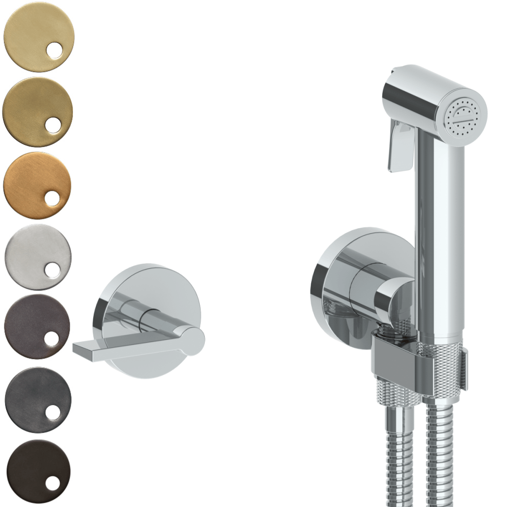 The Watermark Collection London Wall Mounted Bidet Spray Set with Mixer - Lever Handle