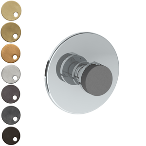 The Watermark Collection Elements Thermostatic Shower Mixer - Scallop Insert