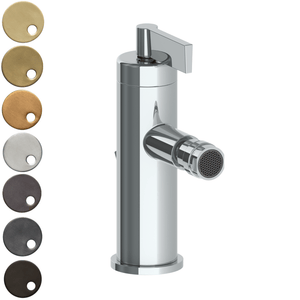The Watermark Collection London Monoblock Bidet Mixer - Lever Handle