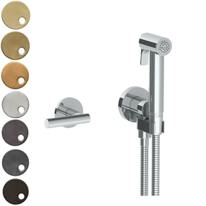 The Watermark Collection Loft Wall Mounted Bidet Spray Set with Mixer