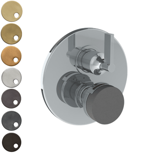 The Watermark Collection Elements Thermostatic Shower Mixer with Diverter - Bridge Insert