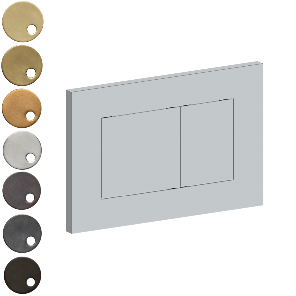 The Watermark Collection Ancillaries Rectangle Flush Plate