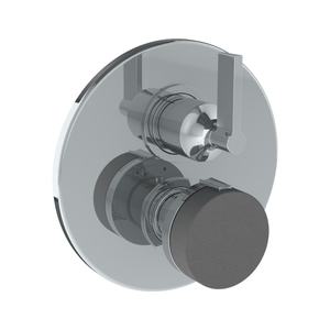 The Watermark Collection Elements Thermostatic Shower Mixer with Diverter - Scallop Insert