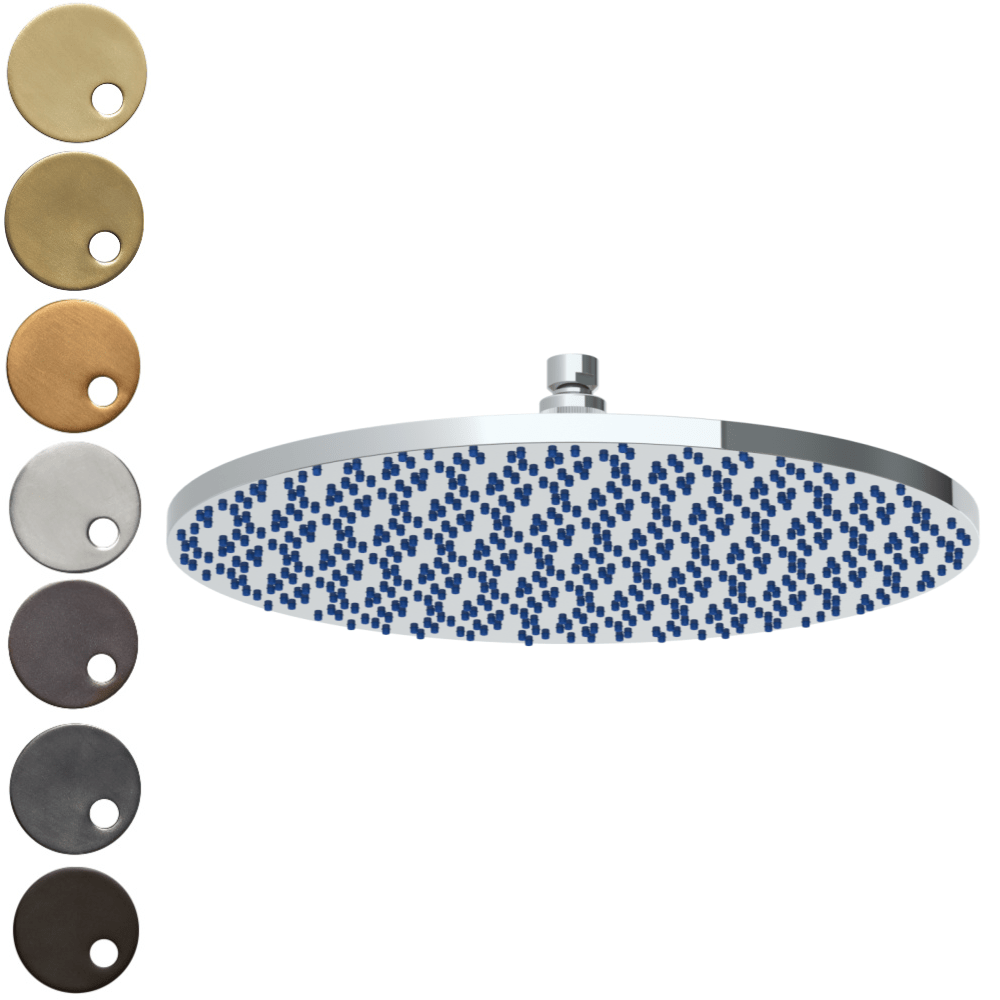 The Watermark Collection Titanium Deluge 400mm Shower Head Only